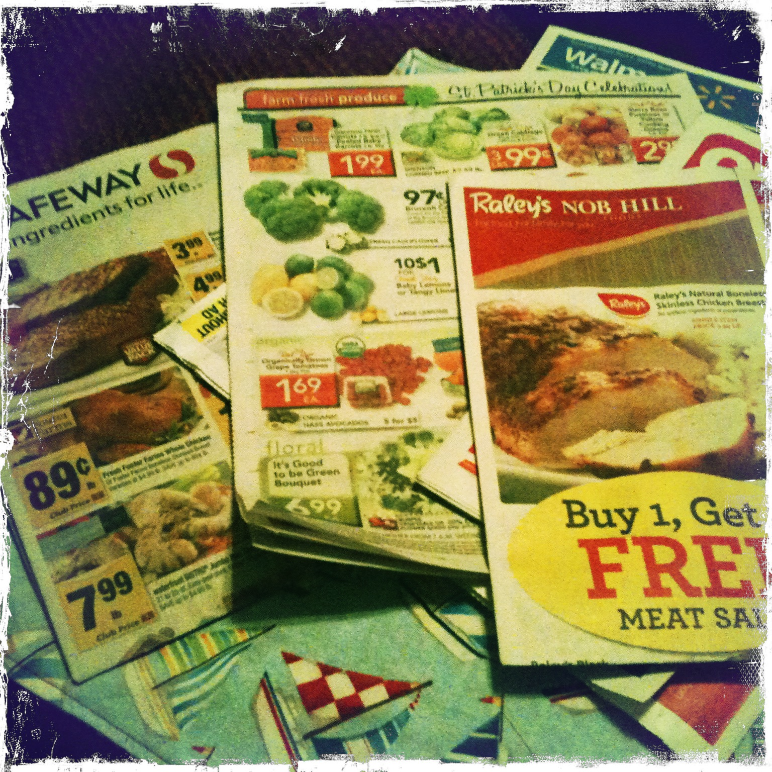 grocery flyers | whackadoodlemommy